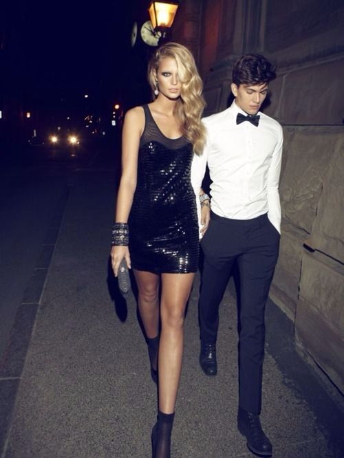 By night. #couple #lovers #fashion #mode #love #like #cute #matching #party #nightlife #style