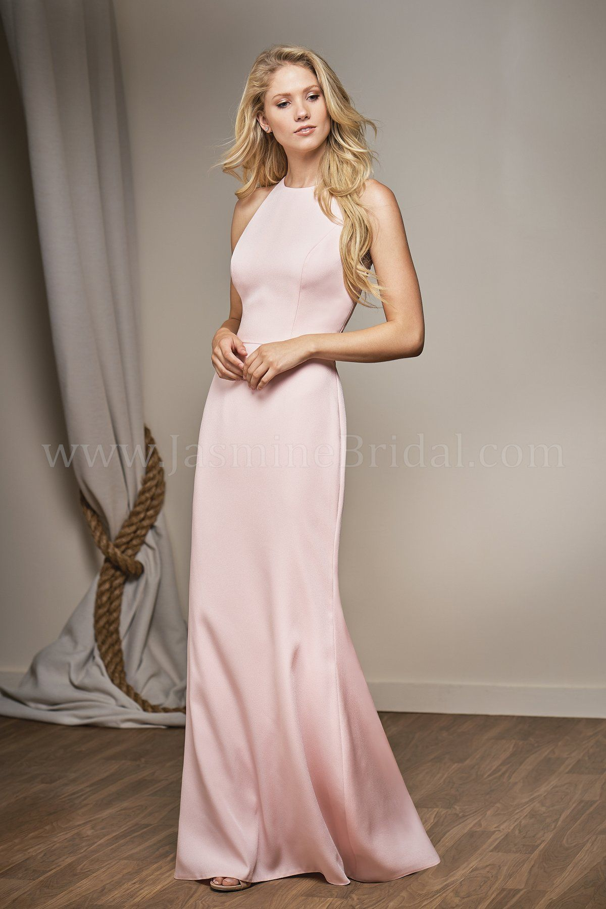 Jasmine bridal belsoie style l204014 in dreamsicle belsoie jasmine bridal belsoie style l204014 in dreamsicle belsoie crepe fit flare bridesmaid ombrellifo Images