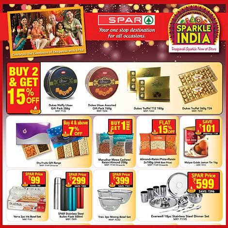 RepublicMahaSale SPARCelebratesRepublicDay SPAR Indias - Deepavali special at the green furniture offers valid while stocks