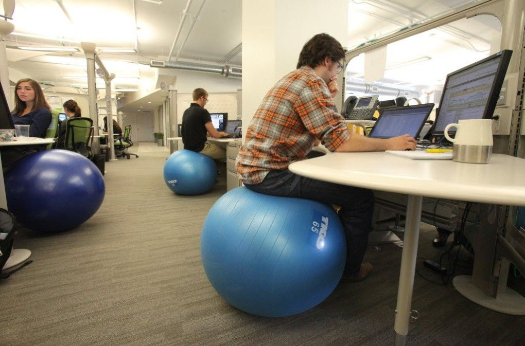 Ergonomic Ball Chair COTC fice Ideas