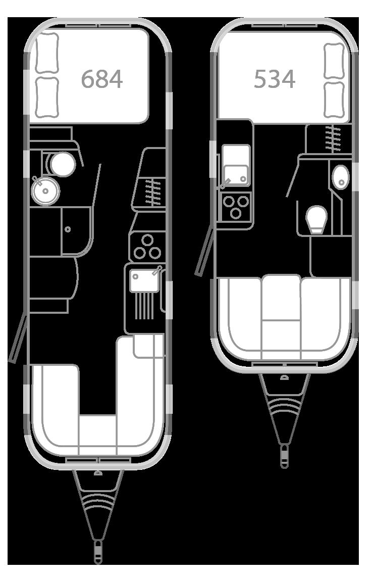 Plan de la caravane Airstream (con imágenes) Autobús