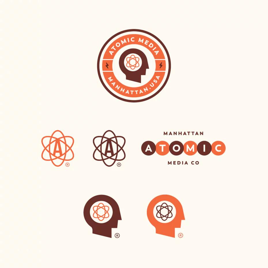 Wrap Your Mind Around Mid Century Modern Design 99designs Vintage Logo Design Logo Design Creative Logo Design Typography
