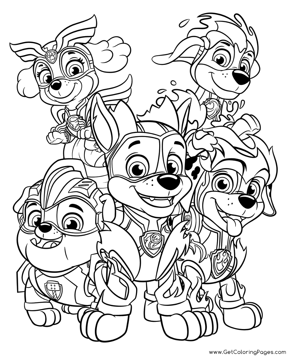 Download Now This Free Coloring Page Or Print And Color For Your Kids Or Friends In 2020 Paw Patrol Coloring Pages Paw Patrol Coloring Paw Patrol Super Pup