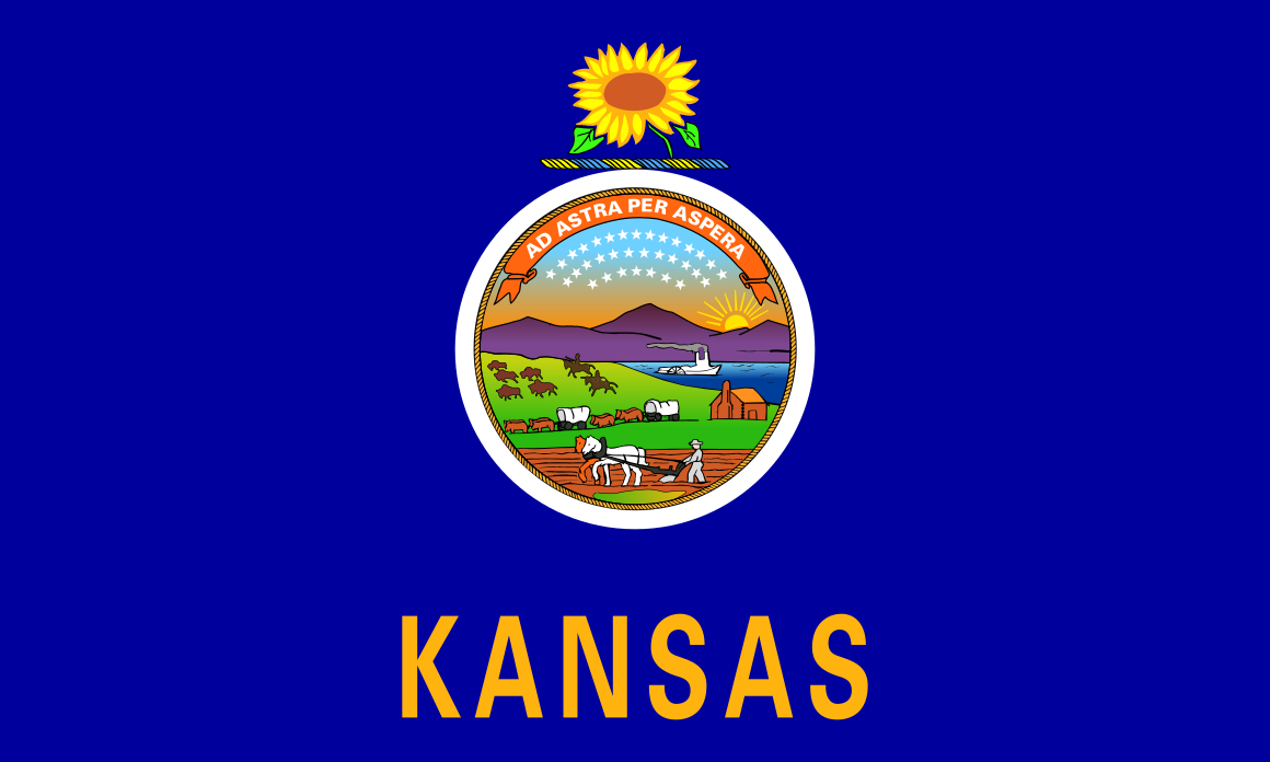 Country: United States of America / State: Kansas / Capital city ...