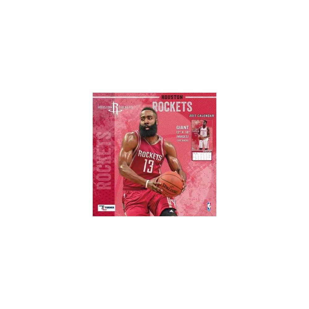 Houston Rockets 2017 Calendar (Paperback)