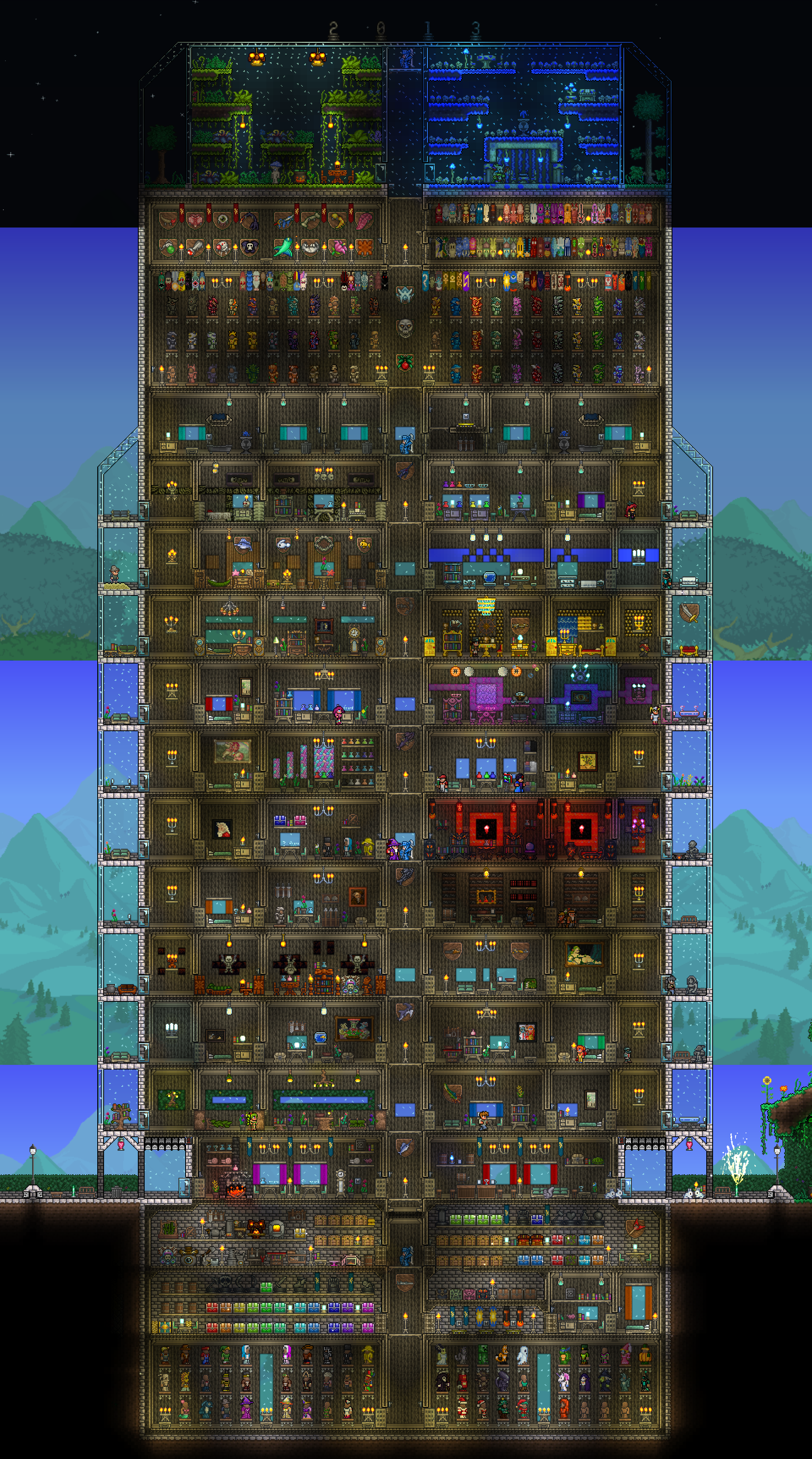 Share Your Collections Terraria House Design Terraria House