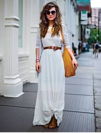 sweater over maxi dress , Google Search