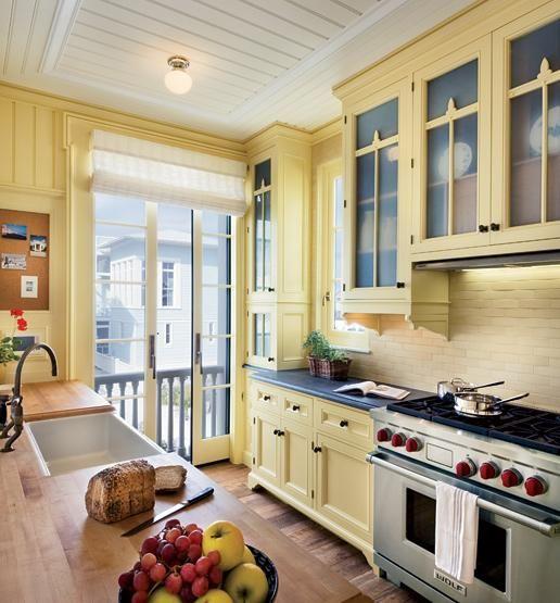 20 Beautiful Kitchen Cabinet Designs Yellow Kitchen Cabinets Kitchen Cabinets Pictures Kitchen Design
