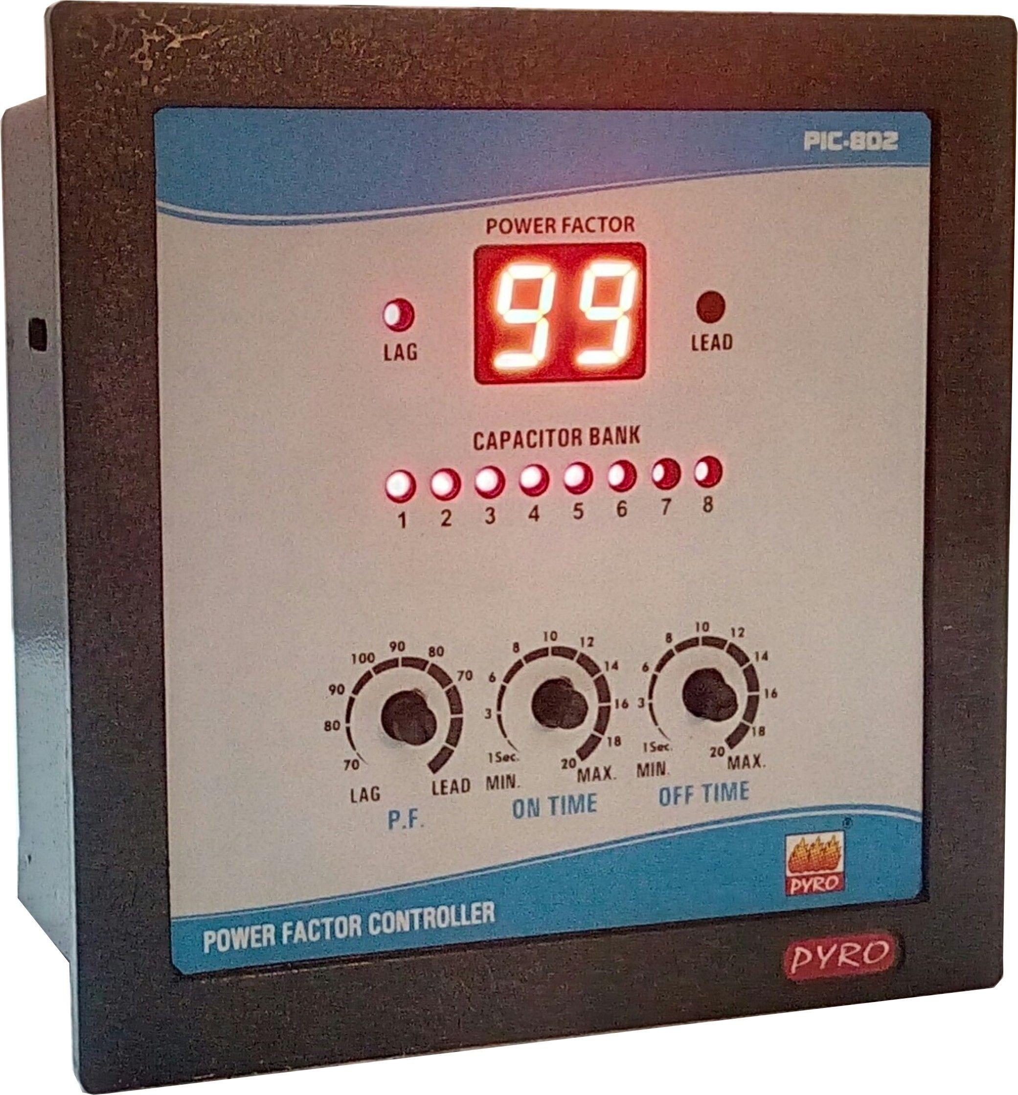 Power Factor Controller 8 Stage Save Energy Capacitor Power
