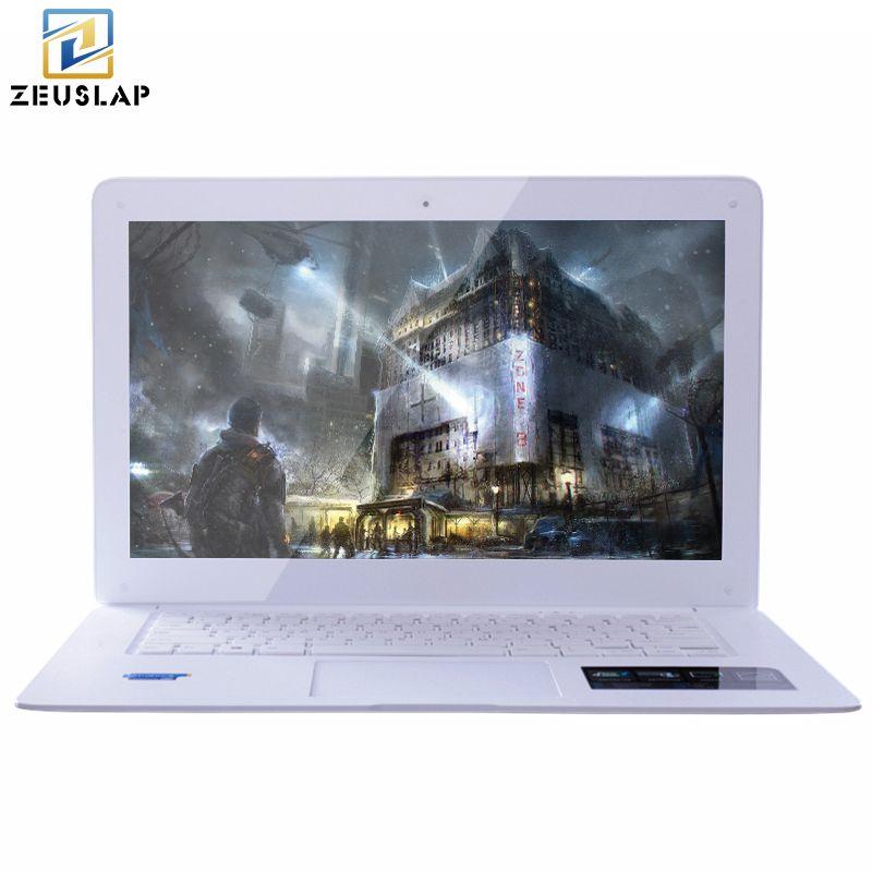 ZEUSLAP 8GB+240GB+750GB Windows10 Ultrathin Quad Core J1900 Fast Boot Multi-language System Laptop Notebook Netbook Computer