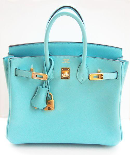 Hermes Birkin Bag 25cm Blue Atoll Lagoon Gold   MALLERIES   1 Hermès ... 67a3193a2c