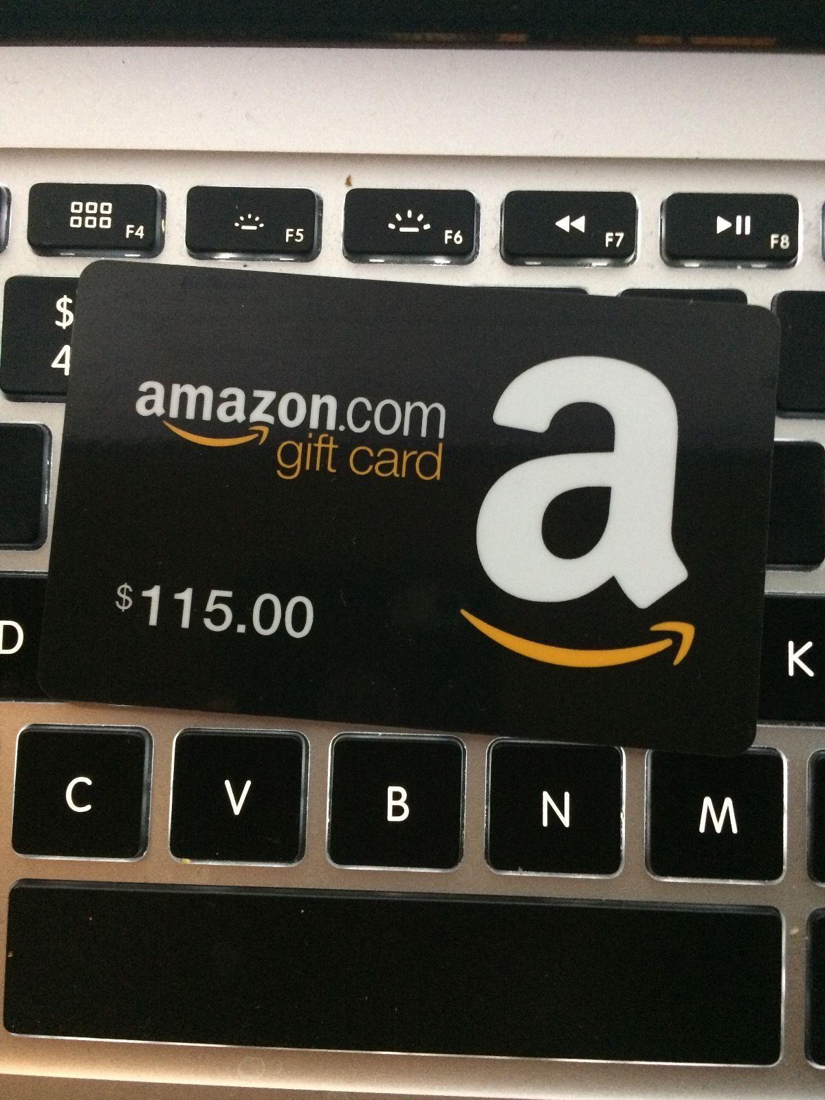 115 amazon gift card