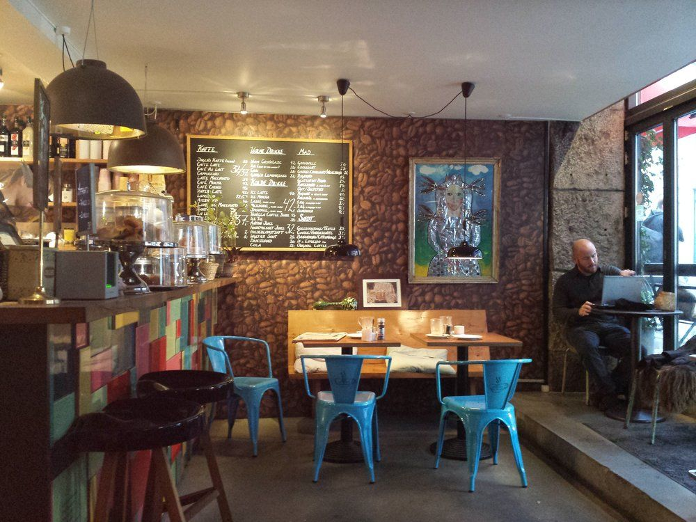 The Coffee Factory København Denmark Cafe Table