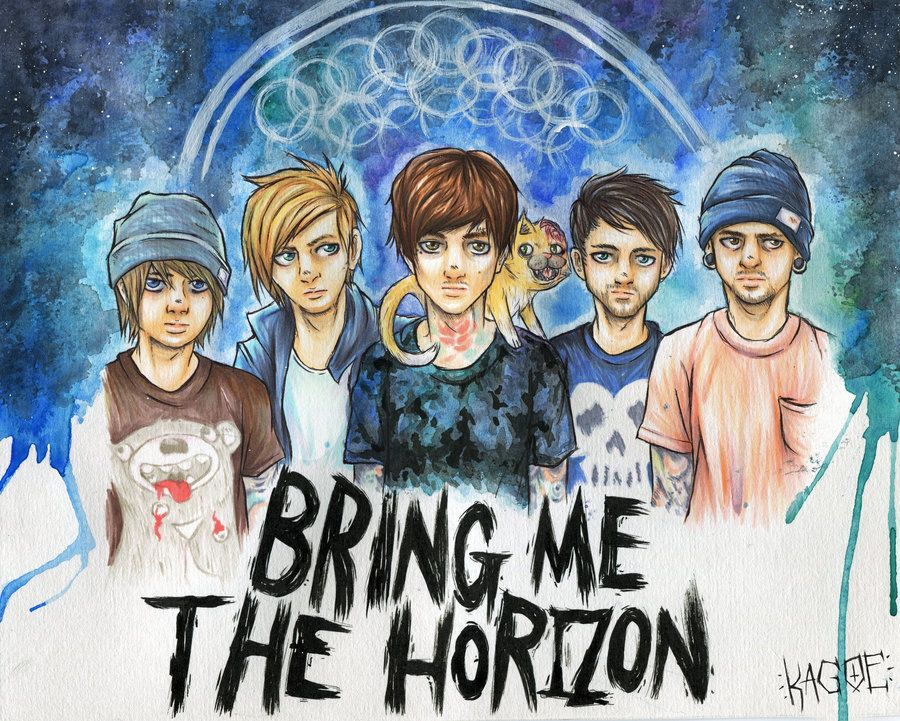 Bring Me The Horizon by Kagoe.deviantart.com on ...