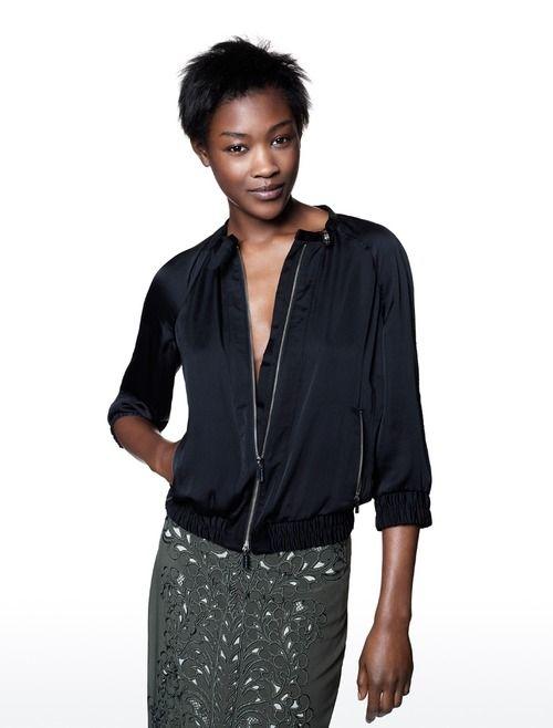 Betty Adewole for Karen Millen