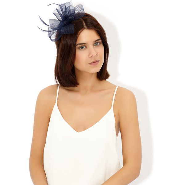 Monsoon Opp Crin And Gem On Band Fascinator ( 10) ❤ liked on Polyvore  featuring accessories 8b95378dbe9