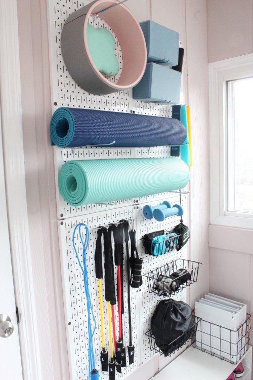 Photo of Set Up A Small Home Gym On A Budget – Organized-ish