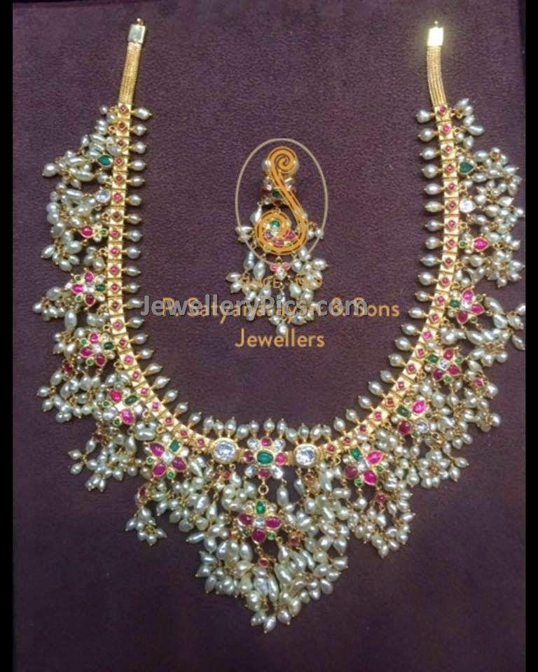 Traditional Buttapusalu set - Latest Jewellery Designs ...