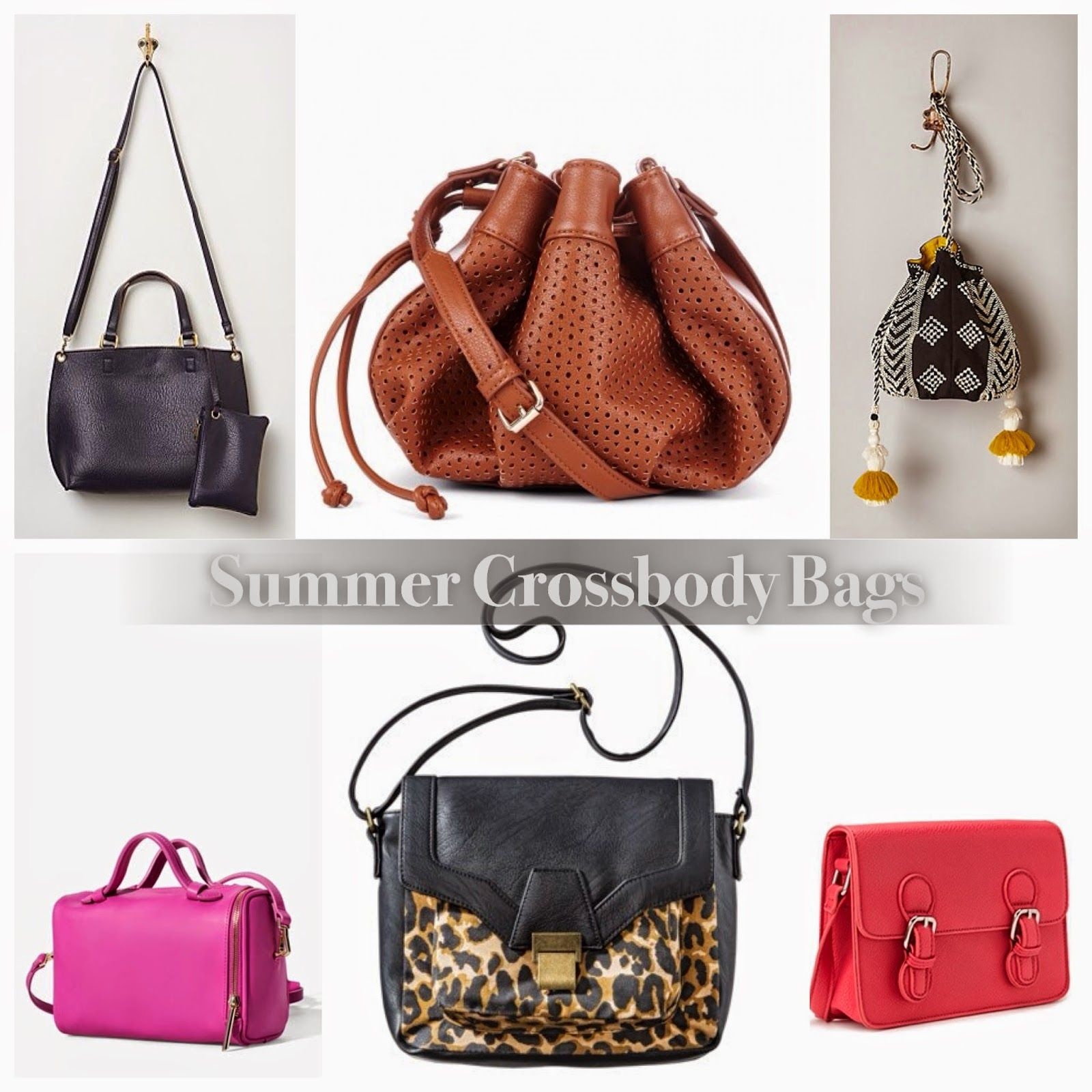 Affordable crossbody bags for the summer via @Quirky At Large ...