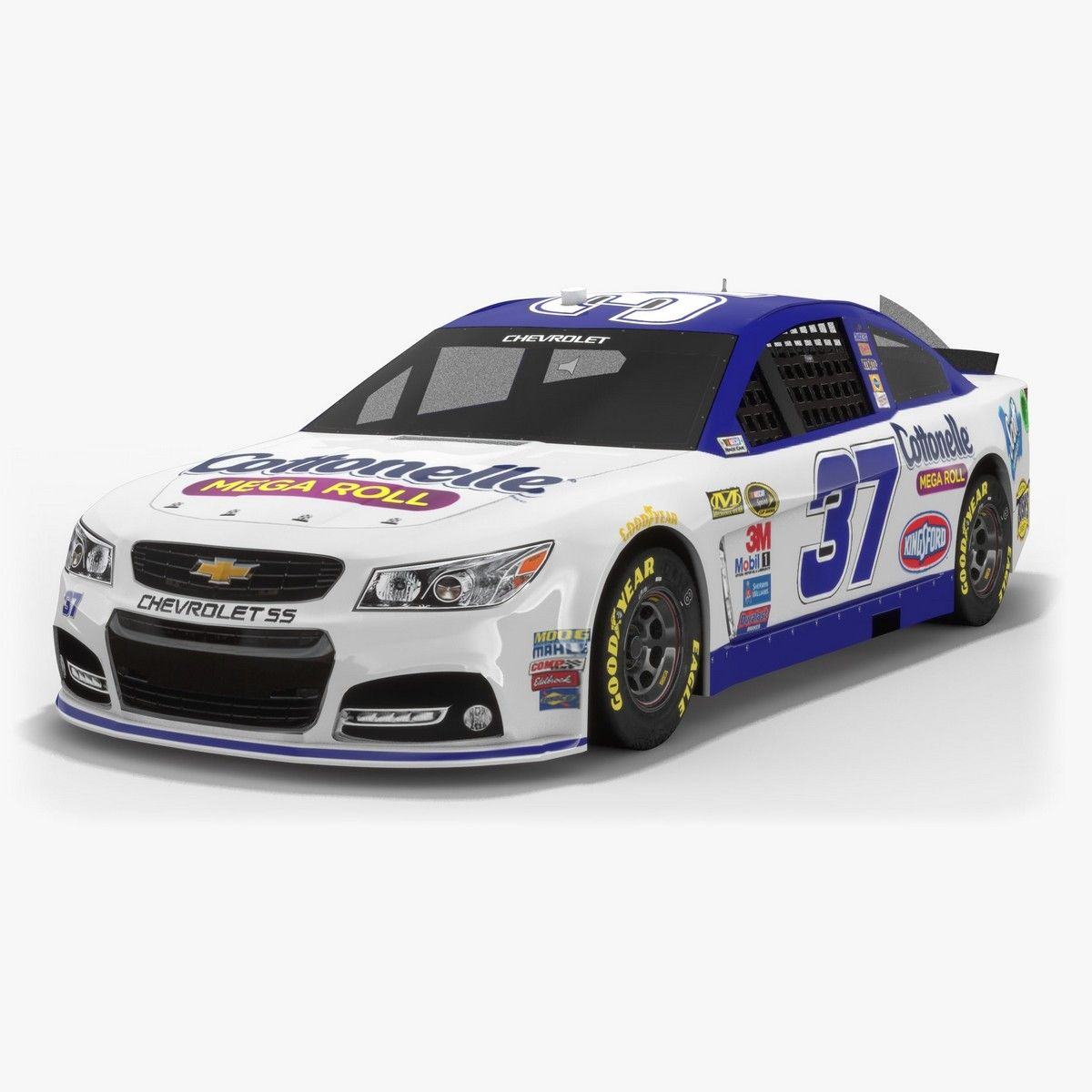The second driver of JTGDaughertyRacing team in Nascar