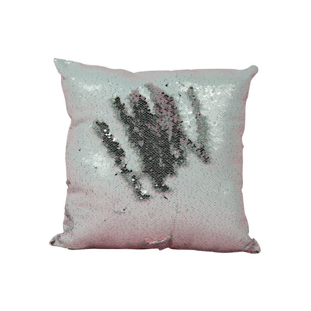Mermaid Silver Pillow