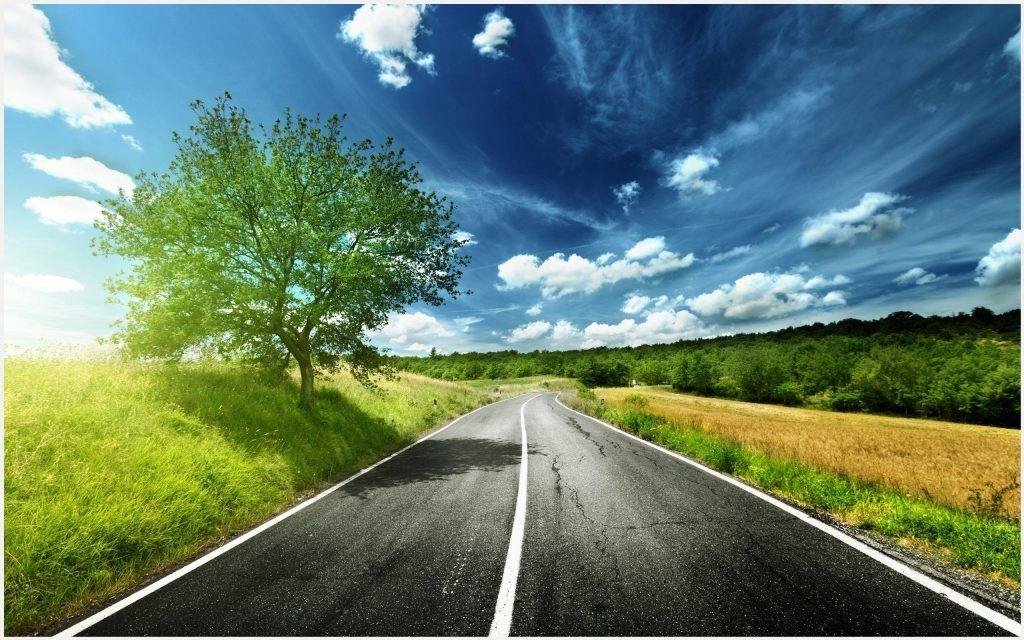 Scenic Road Wallpaper HD