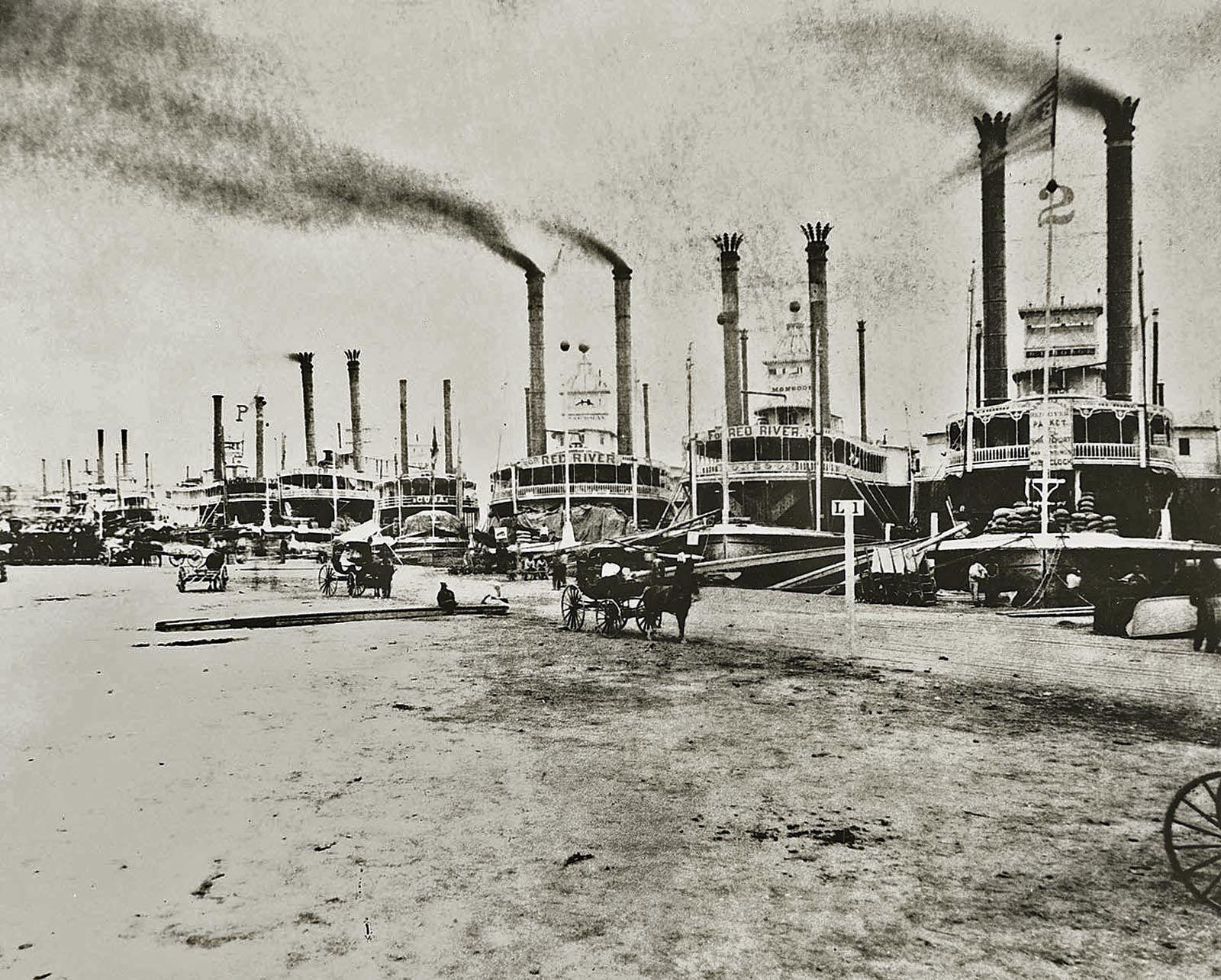 Risultati immagini per New Orleans in 1868