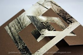 StampingMathilda: Darkroom Door - Frame card tutorial