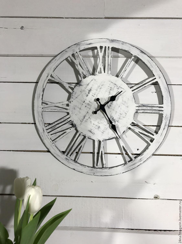 Часы из фанеры