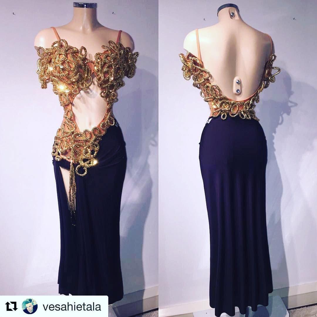 370 mentions J'aime, 5 commentaires – Veera Kinnunen (@veerakinnunen) sur  Instagram : « My gorgeous VESA dress! T…   Dance attire, Dancesport  dresses, Dance fashion