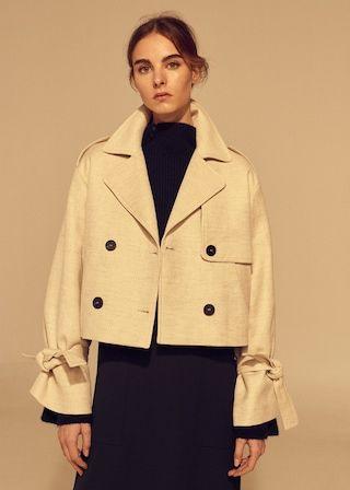 San Francisco nouveau style de vie dans quelques jours Trench court coton - Femme | MODE | Short trench coat ...