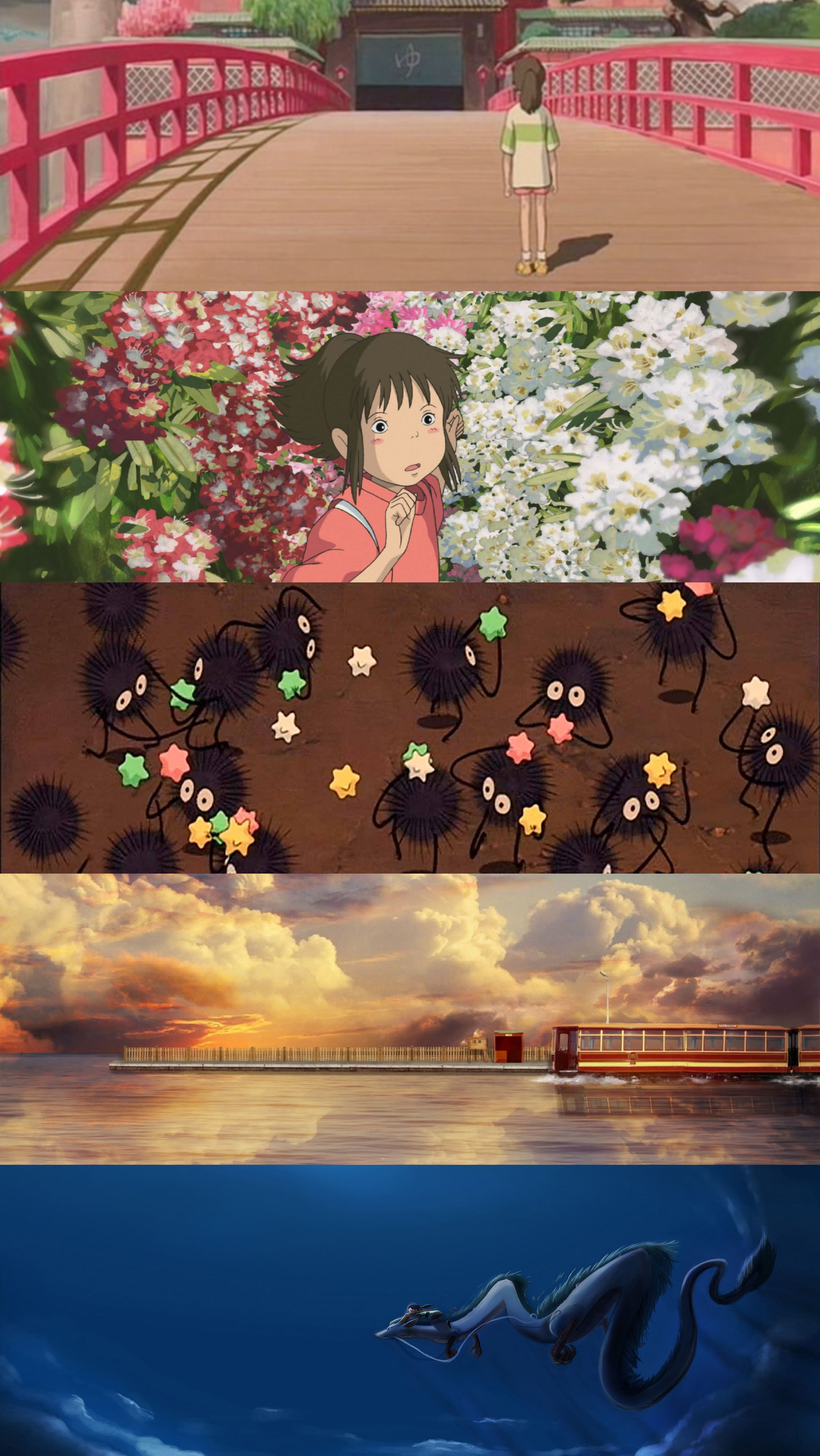 Spirited Away Ghibli Chihiro Wallpaper Studio Ghibli