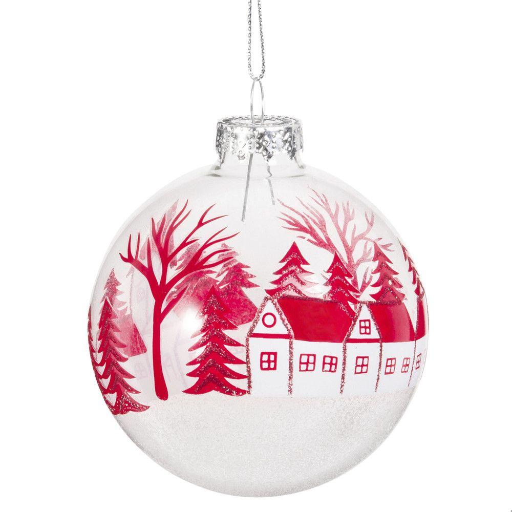 Boule De Noel Transparente A Decorer décorations de noël | boules de noël en verre, boule en