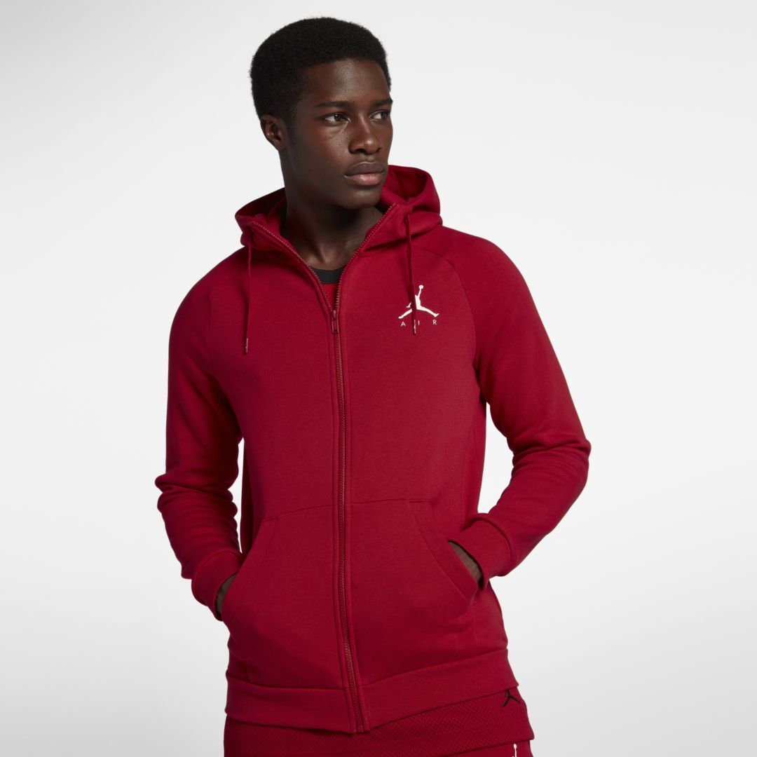 Jordan Jumpman Men's Fleece Full Zip Hoodie | Mens fleece