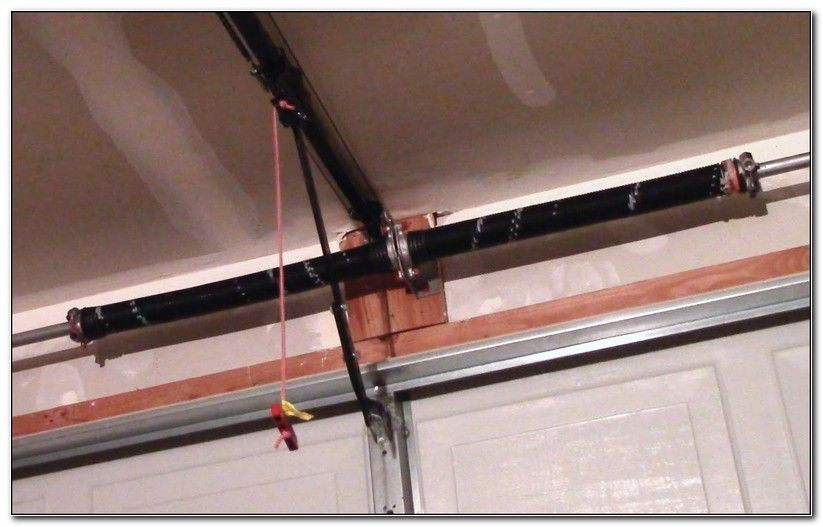 How To Adjust Torsion Spring On Garage Door Opener Check More At
