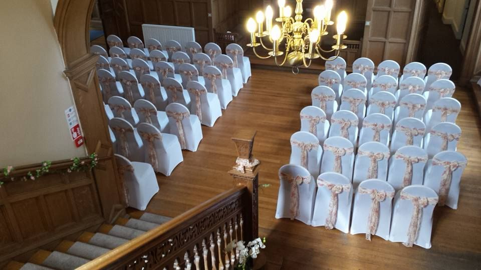 Our Grand Hall Set Up For A Wedding Ceremony Boutique Spa Hotel Located Near Stirling