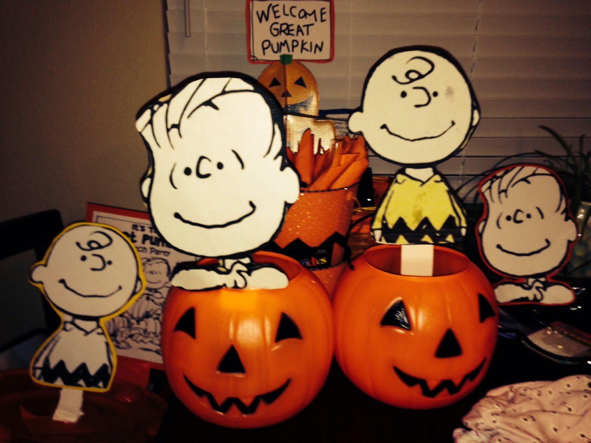 Great Pumpkin Charlie Brown Party
