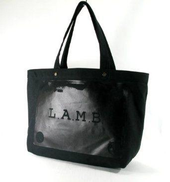 L.A.M.B. Malibu Canvas Tote (Black) $98.00