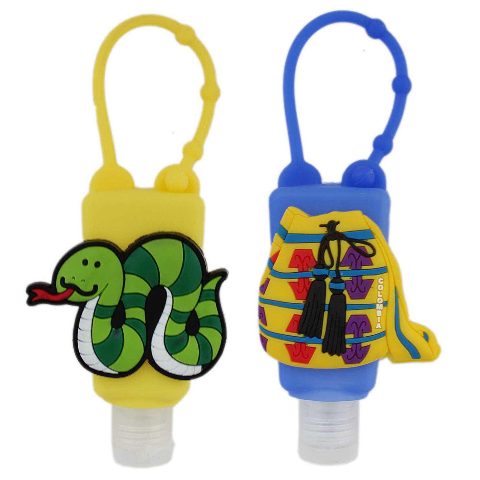 Silicone Hand Sanitizer Holder For Kids Pack Of 2 1p237