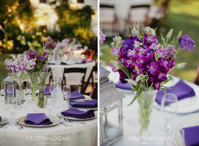 Wine Barn Wedding Tablescapes