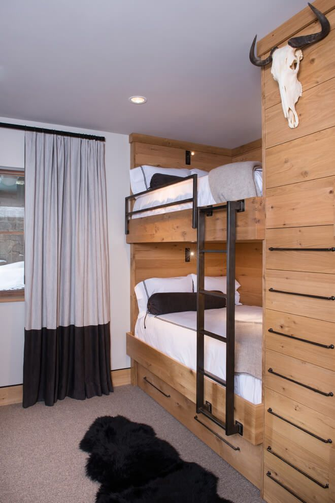Vail ski hause by reed design group interior pinterest haus etagenbett kinder and etagenbett - Etagenbett interio ...