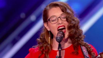 Deaf Singer Mandy Harvey Performs on Americas Got Talent