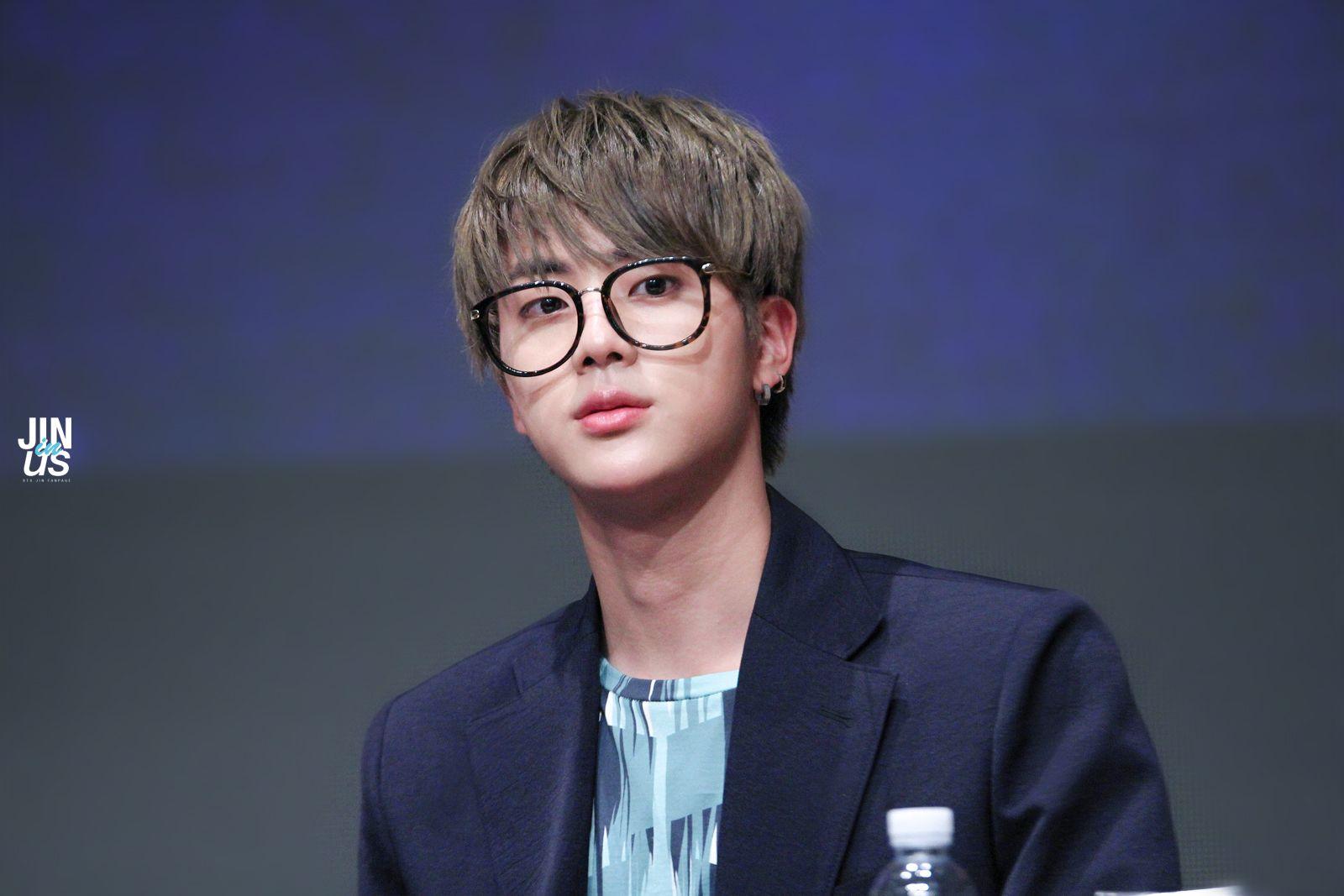 Korea blue glasses twink