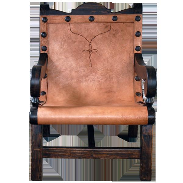 Enriqueta Leather Chair chr22