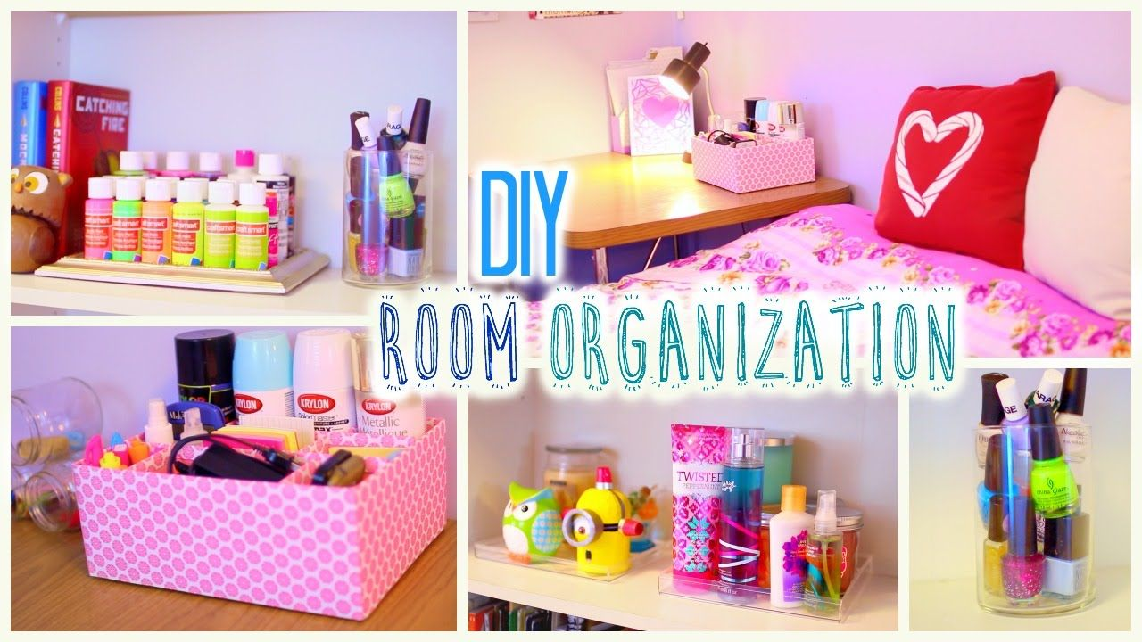 Diy room organization and storage ideas how to clean - Cool stuff to put in your room ...