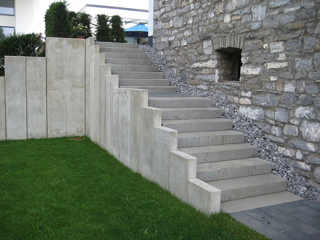 terrasse treppe stein