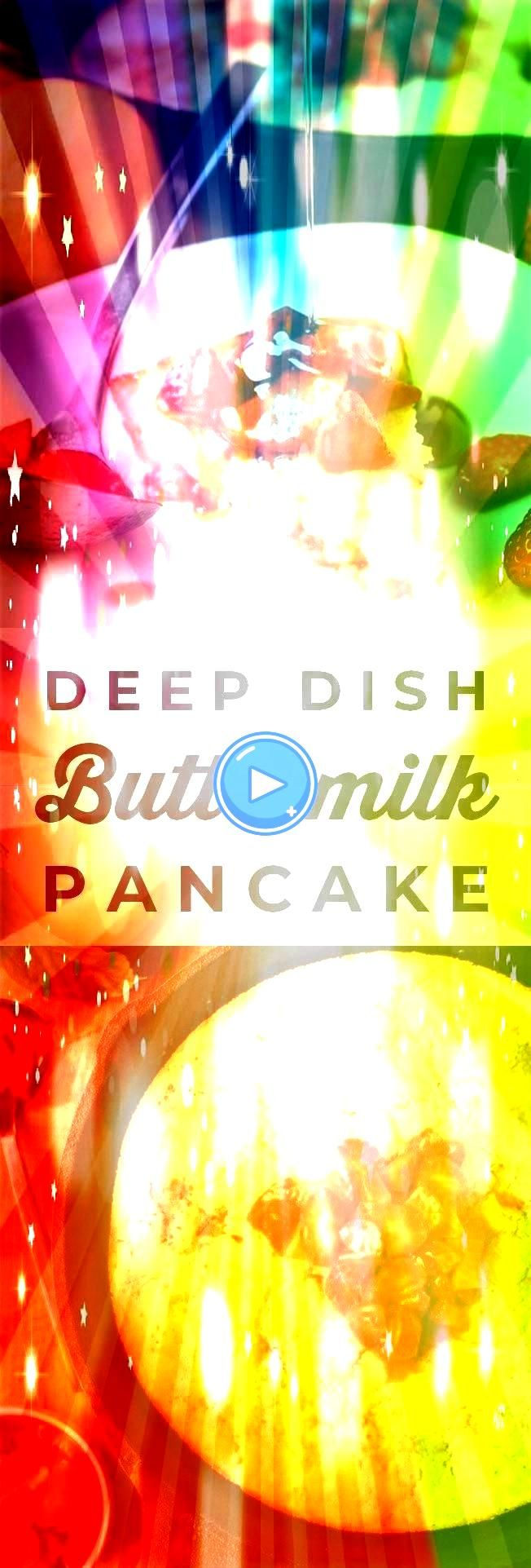 Pancake from The Food Charlatan Why flip a hundred pancakes when you could make one giant one You are going to love this Deep   Deep Dish Buttermilk Pancake from The Food...