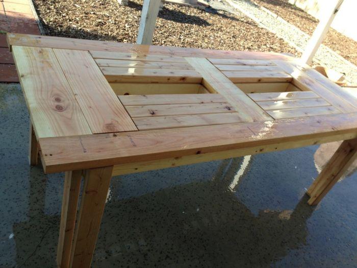 tisch selber bauen jeder von uns kann einen solchen tisch selbst, Esstisch ideennn