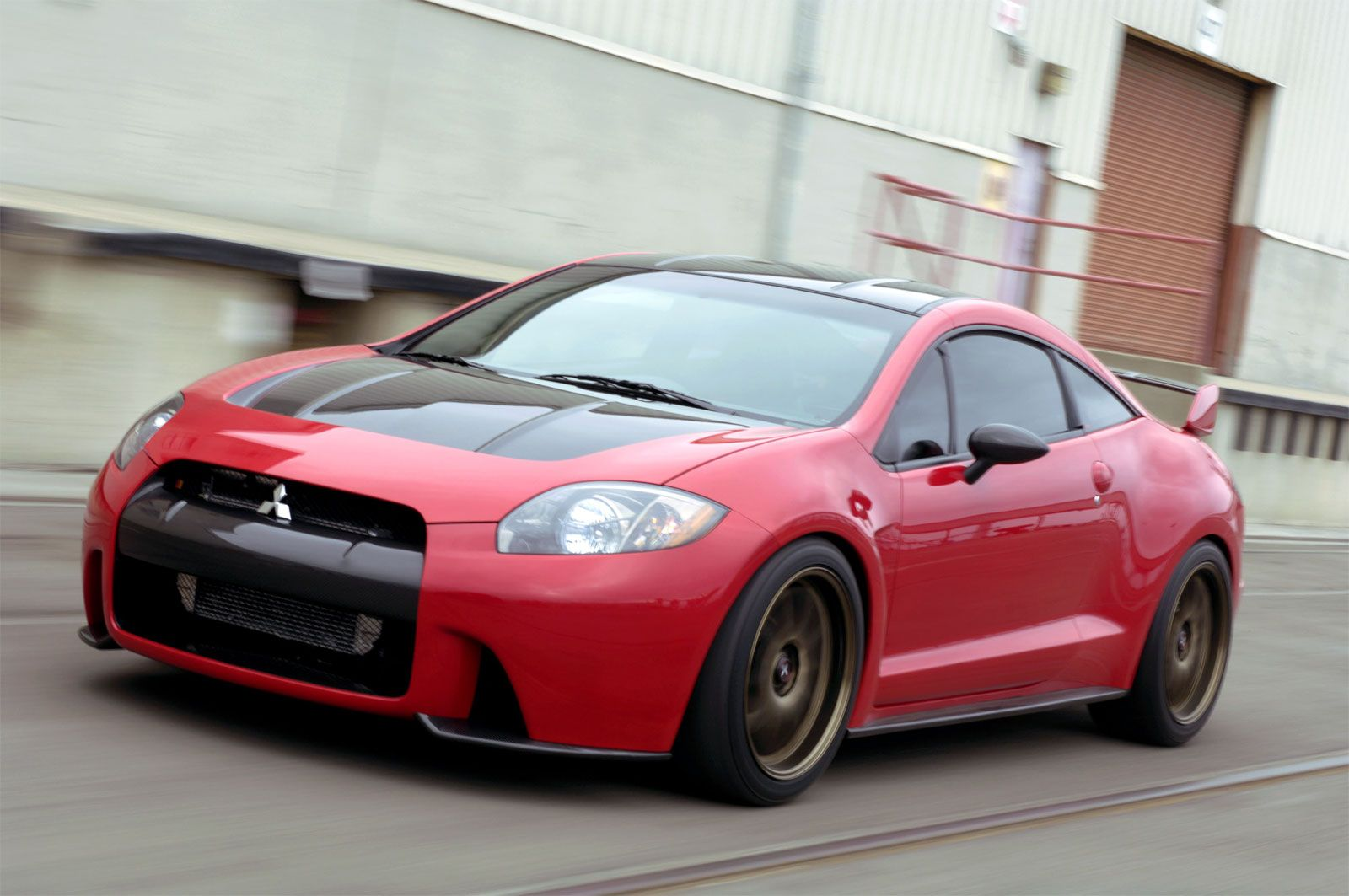 mitsubishi eclipse in red by far my most favorite car of all
