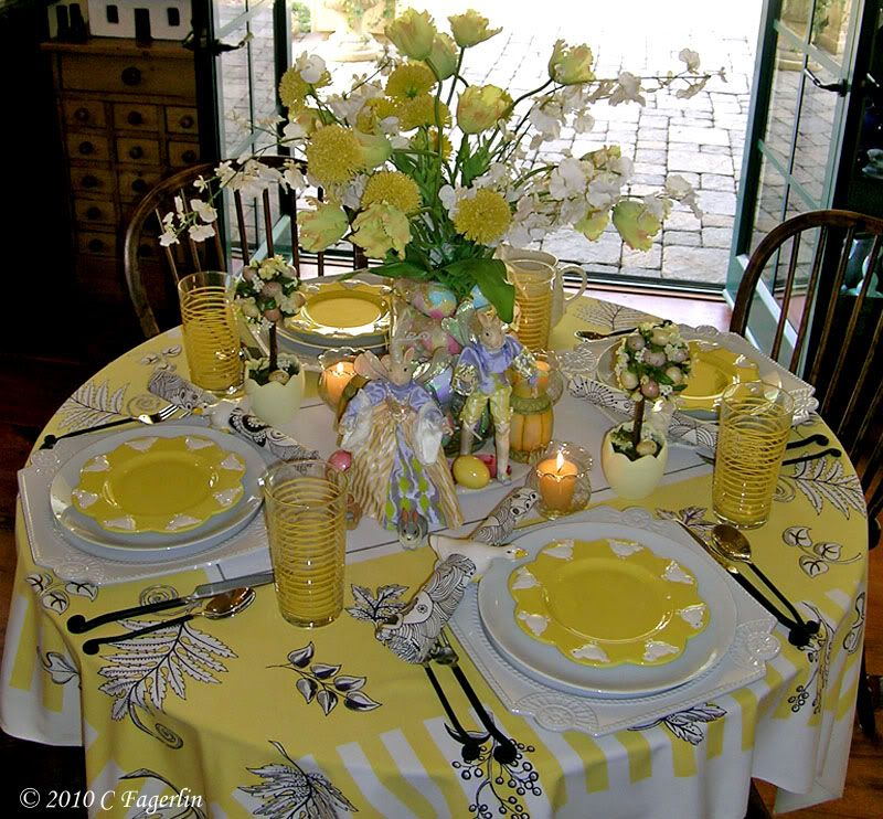 thanks so much for coming by again today the 2011 easter tablescapes - Tablescapes